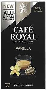 Pack Nespresso Café Royal Vainilla 10 paquetes de 10 cápsulas total 100 cápsulas Nespresso