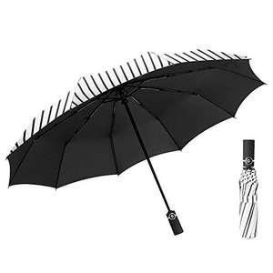 Compacto y Plegable se Abre y Cierra automáticamente, Paraguas a Prueba de Viento