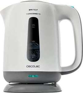 Hervidor - Cecotec ThermoSense 170, 1.7L, 2200W, Libre de BPA, Filtro antical [Tb en Amazon]