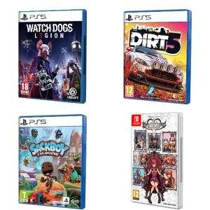 PS5 19.88€ c/u :: Watch Dogs Legion, Sackboy, Dirt 5 y Kingdom Hearts | AlCampo Sant Boi, Baleares