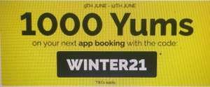 Gana 1000 yums (o 2000 yums en restaurantes doble yums) El tenedor