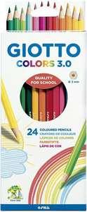 Caja de 24 lápices de colores (y más ofertas en el interior)