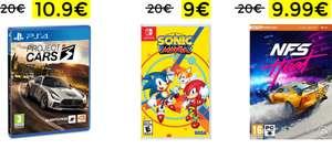 Liquidación de juegos MediaMarkt