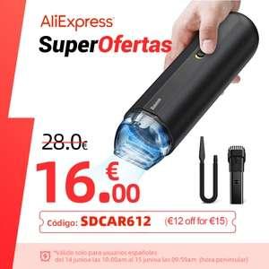 Aspiradora de mano Baseus por 6,76€