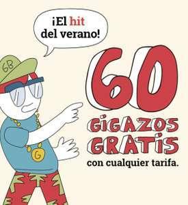 60 GIGAZOS GRATIS Lowi