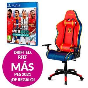 SILLA GAMING DRIFT ED. RFEF + PES 2021 ¡DE REGALO!