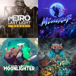 Metro: Last Light, 2033 Redux, Children of Morta, The Messenger, Moonlighter, además Deep Sky Derelicts: DE a 0.11 (eShop)