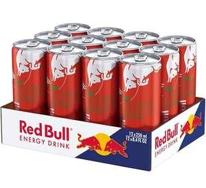 Red Bull Bebida Energética, Sandía, 12 Latas de 250Mililitros, 3000 Mililitros (pasos en descripción)