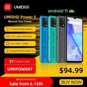 UMIDIGI-teléfono inteligente Power 5 versión Global