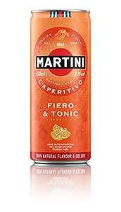 Martini Fiero Con Tónica 12 Latas X 25Cl.