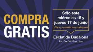 """Compra """"gratis"""" (real -20%) en Esclat Badalona 16 y 17 de junio"""