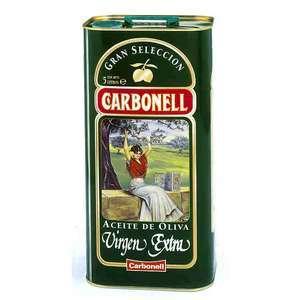 Aceite de oliva virgen extra CARBONELL lata de 5 l. (Alcampo Linares)