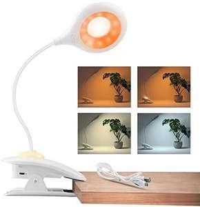 Lámparada de lectura 3 modos 22 LEDS 360° flexible