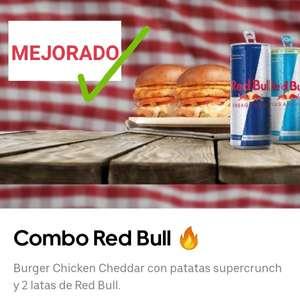 4 MENÚS RED BULL 4,90€