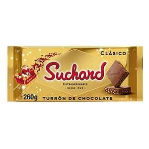 Suchard Turrón De Chocolate con Leche Clásico Navideño, 260g