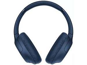 Auriculares inalámbricos - Sony WH-CH710N, Bluetooth, NFC, Micrófono, 35h autonomía, Cancelación ruido, Azul