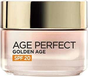 L'Oréal Paris Age Perfect Golden Age Crema de Día Fortificante con Protección Solar SPF 20, 50 ml