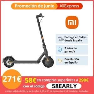 Mi Scooter 1S desde España por 271€