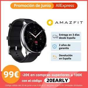 Amazfit GTR 2 sport edition envío desde AliExpress Plaza