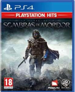 Shadow Of Mordor PS4 FÍSICO