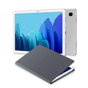 "Samsung Galaxy Tab A7 Tablet de 10.4"" FullHD (WiFi, Procesador Octa-Core Qualcomm Snapdragon 662, RAM 3GB, Almacenamiento 32GB)+ Book Cover"