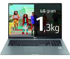 """LG - Portátil ultraligero 17"""" WQXGA ( i7 11ª Gen, 16GB RAM, 512GB SSD, Iris Xe Graphics, W10H+) - Plata"""