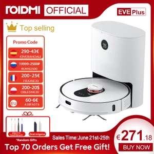 ROIDMI EVE Plus Robot aspirador (Desde España)