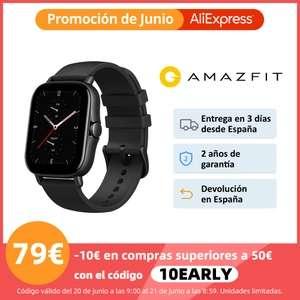 Amazfit GTS 2e desde España por 79,90 €