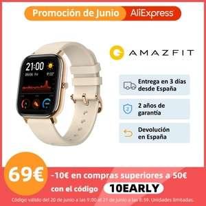 Amazfit GTS desde España por 69,90 €