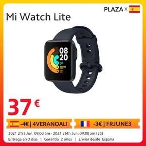 Xiaomi Mi Watch Lite desde España por 38,99 €