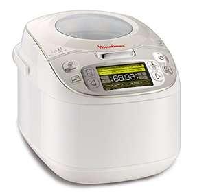 Moulinex Maxichef Advance MK8121 - Robot de cocina con 45 programas de cocción, capacidad 5 litros