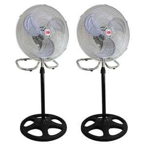 Dos ventiladores de 55W