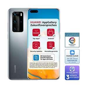 HUAWEI P40 Pro 5G 8GB RAM 256GB Dual Silver Frost - reaco MB @Amazon