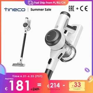 Tineco Pure One X Aspiradora Inalámbrica Inteligente, Ligera, Silenciosa, Succión Potente, Batería Recargable 70 Minutos - Desde Europa