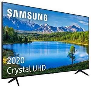 """Samsung Crystal UHD 2020 50TU7095 - Smart TV de 50"""" 4K, HDR 10+, Crystal Display, PurColor, Sonido Inteligente, compatible Alexa"""