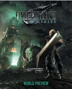 Final Fantasy VII Remake Word. Tapa dura, 136 pág