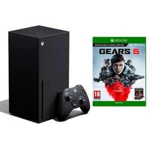 Microsoft Xbox Series X 1TB + Gears of War 5