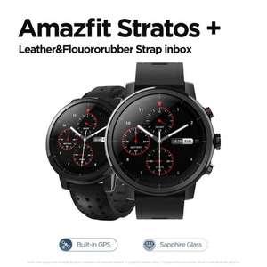 Amazfit Stratos + (con correa de cuero) desde España por 62,71€ (64€ sin monedas)