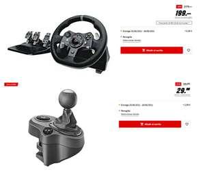 Volante, pedales y palanca de cambios Logitech G920 (Xbox y PC)