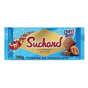Suchard Turrón De Chocolate Con Leche Y Galletas Chips Ahoy Navideño - Tableta De G, Navidad Y Fiestas, 260 Gramo