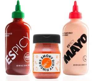 Pack ESPICY Trio DIRTY (Hot Sauce, Mayo y Smoky Dirty Fingers) ENVIO GRATIS