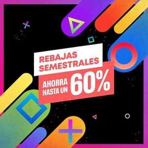 Rebajas semestrales en PSN España