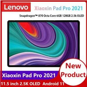 "Tablet Lenovo Yi Pad Pro 2021 11.5"" OLED 6GB+128GB [Snapdragon 870][Versión WiFi][Versión China]"