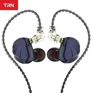 Auriculares híbridos TRN VX 6BA+1DD (14 altavoces)