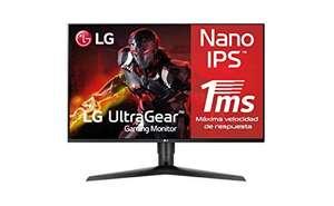 "Monitor LG 27GL850-B, IPS de 27"", 2560×1440, 144 Hz, 1ms"