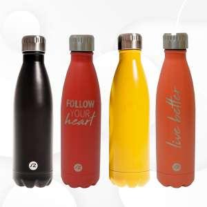 Botella de Agua 500ml Hydro botella frío caliente de acero inoxidable para deporte