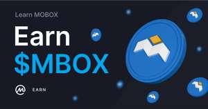 Monedas gratis MOBOX en earn de Coinmarketcap