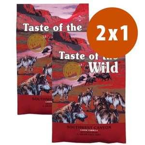 2kg + 2kg GRATIS Pienso Taste of the Wild Southwest Canyon Adult