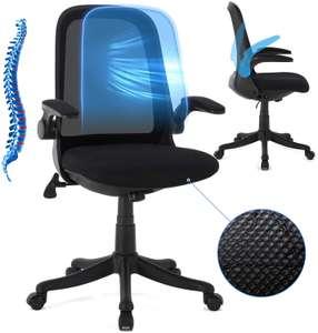 Silla de oficina ergonómica y transpirable solo 59€