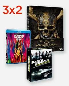 3x2 en películas y series el corte inglés